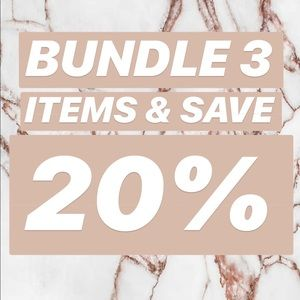 Handbags - Bundle 3 items and receive a 20% discount!